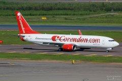 TC-TJN Corendon Airlines B737-800 10.06.2017