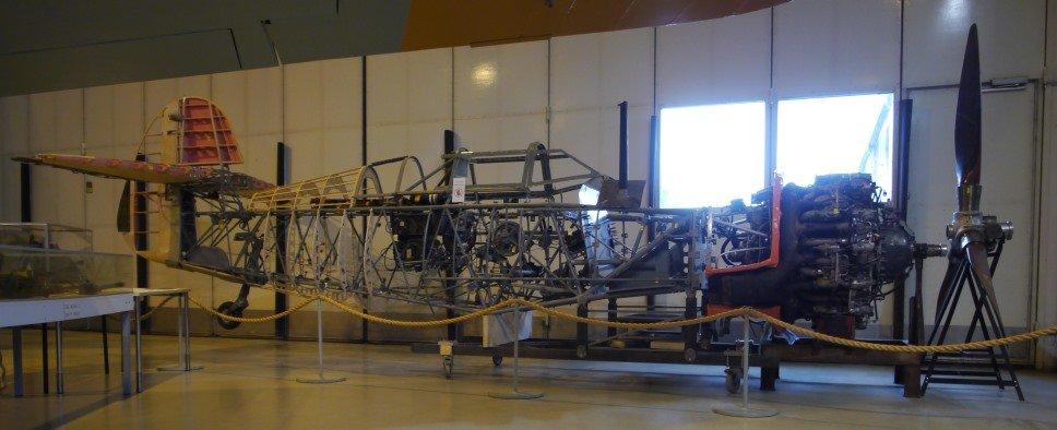 VL Myrsky MY-14 Ilmavoimamuseon näyttelyssä heinäkuussa 2017.jpg