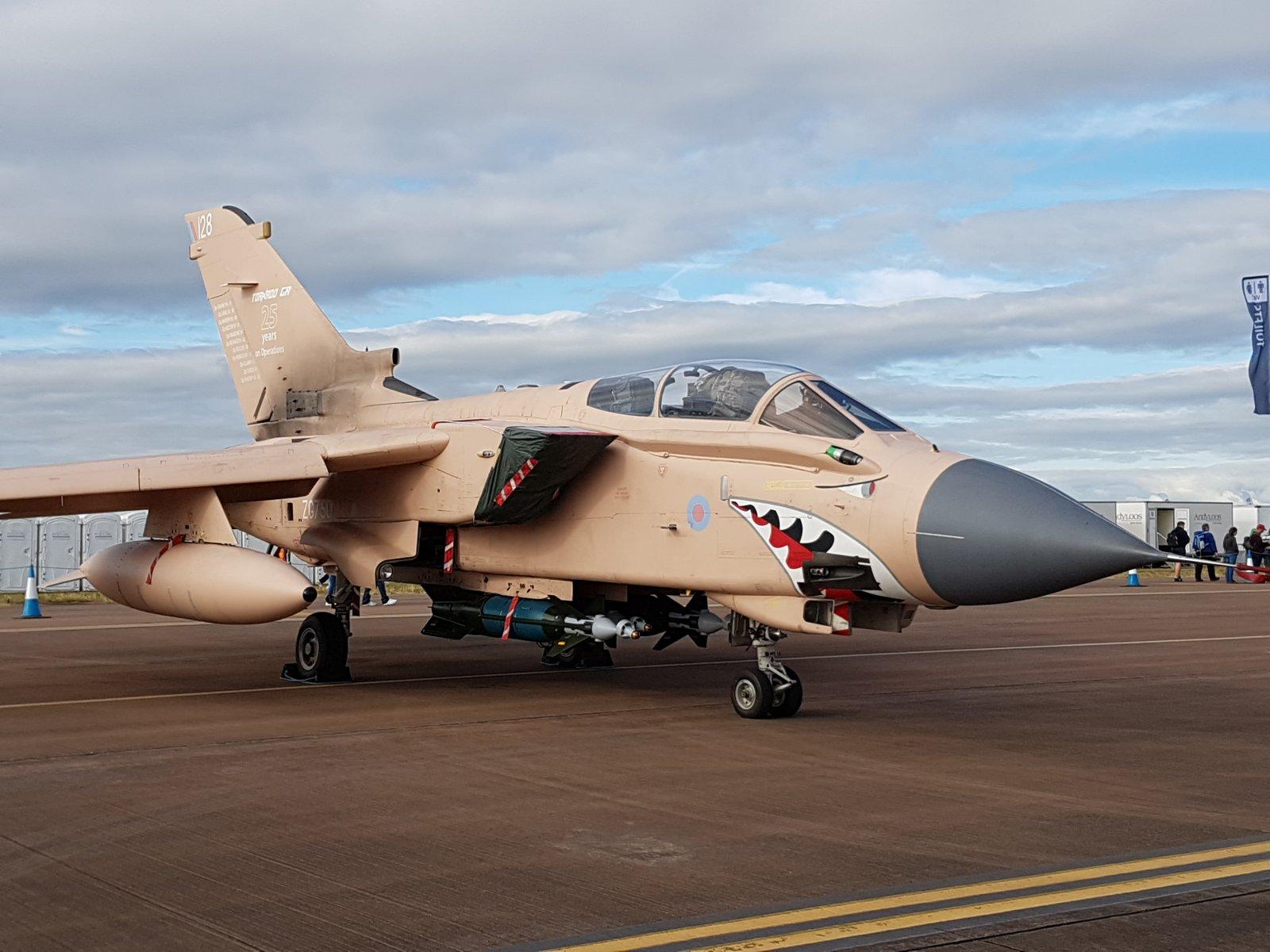 RAF:n Panavia Tornado GR4, ZG750