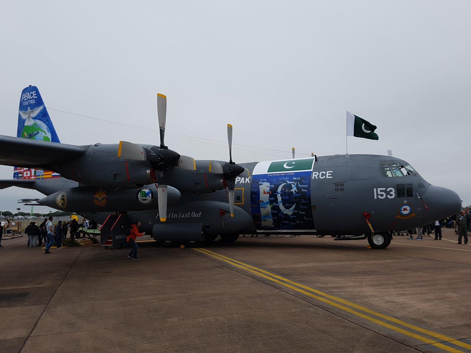 Pakistan Air Force Lockheed C-130E Hercules, 4153