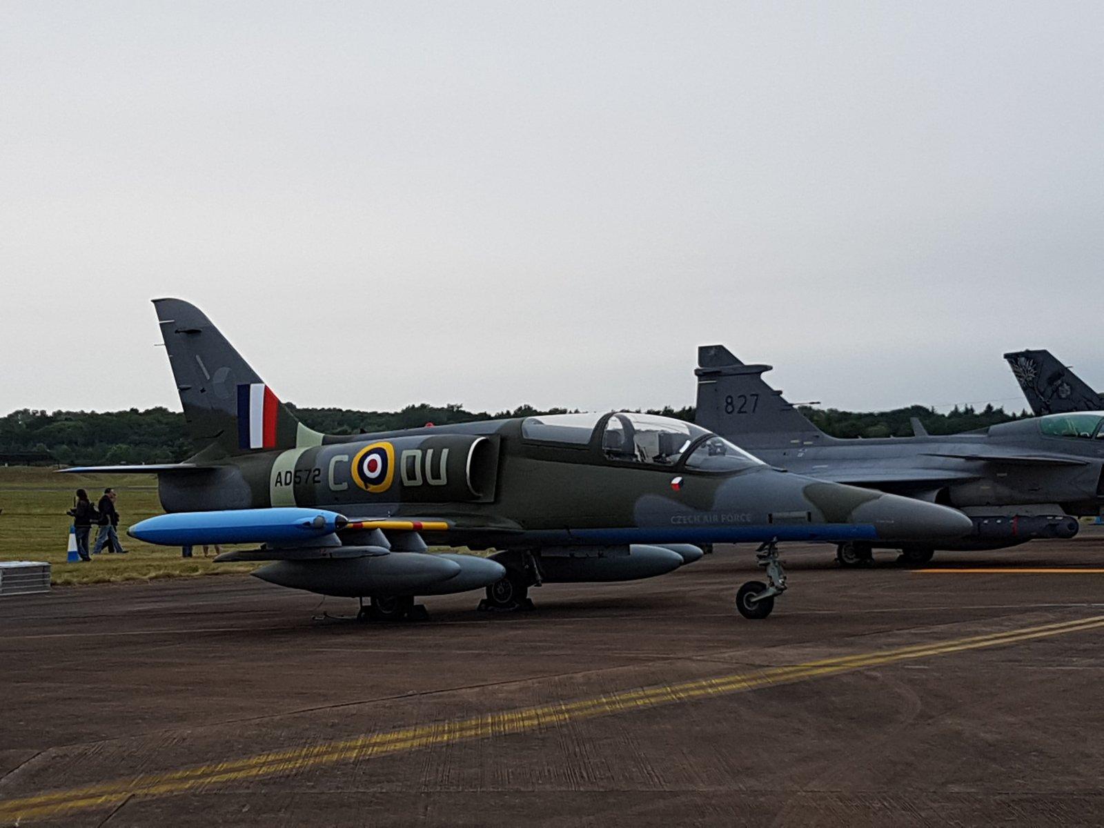 Tsekin ilmavoimien Aero L159 ALCA, 6053/AD572