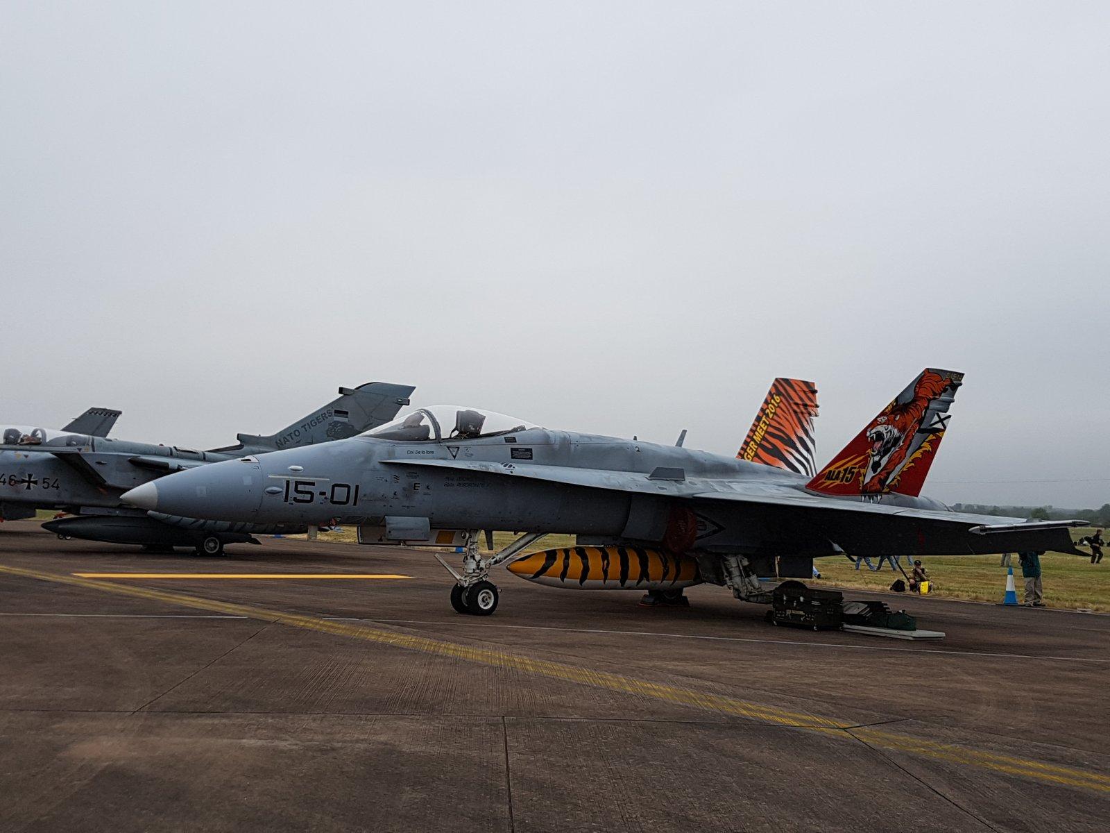 Espanjan Boeing EF-18M Hornet, C.15-14/15-01