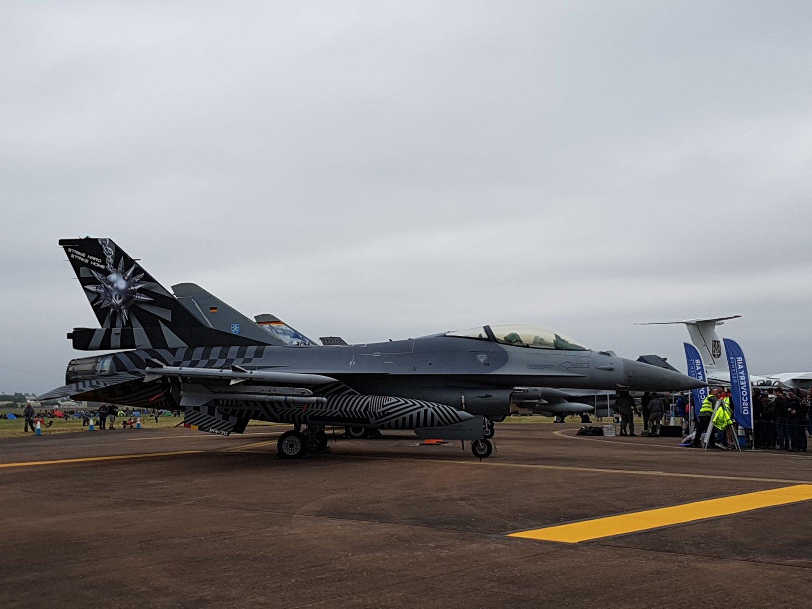 Belgian General Dynamics F-16AM, FA-70