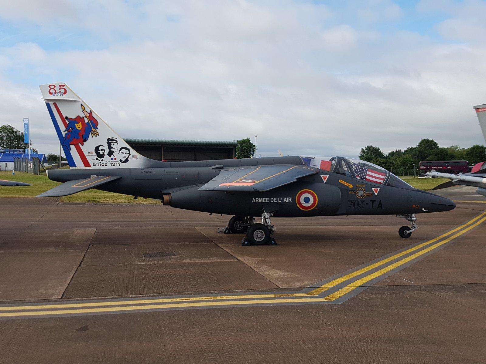Ranskan AF, Alpha Jet E, E42/705-TA