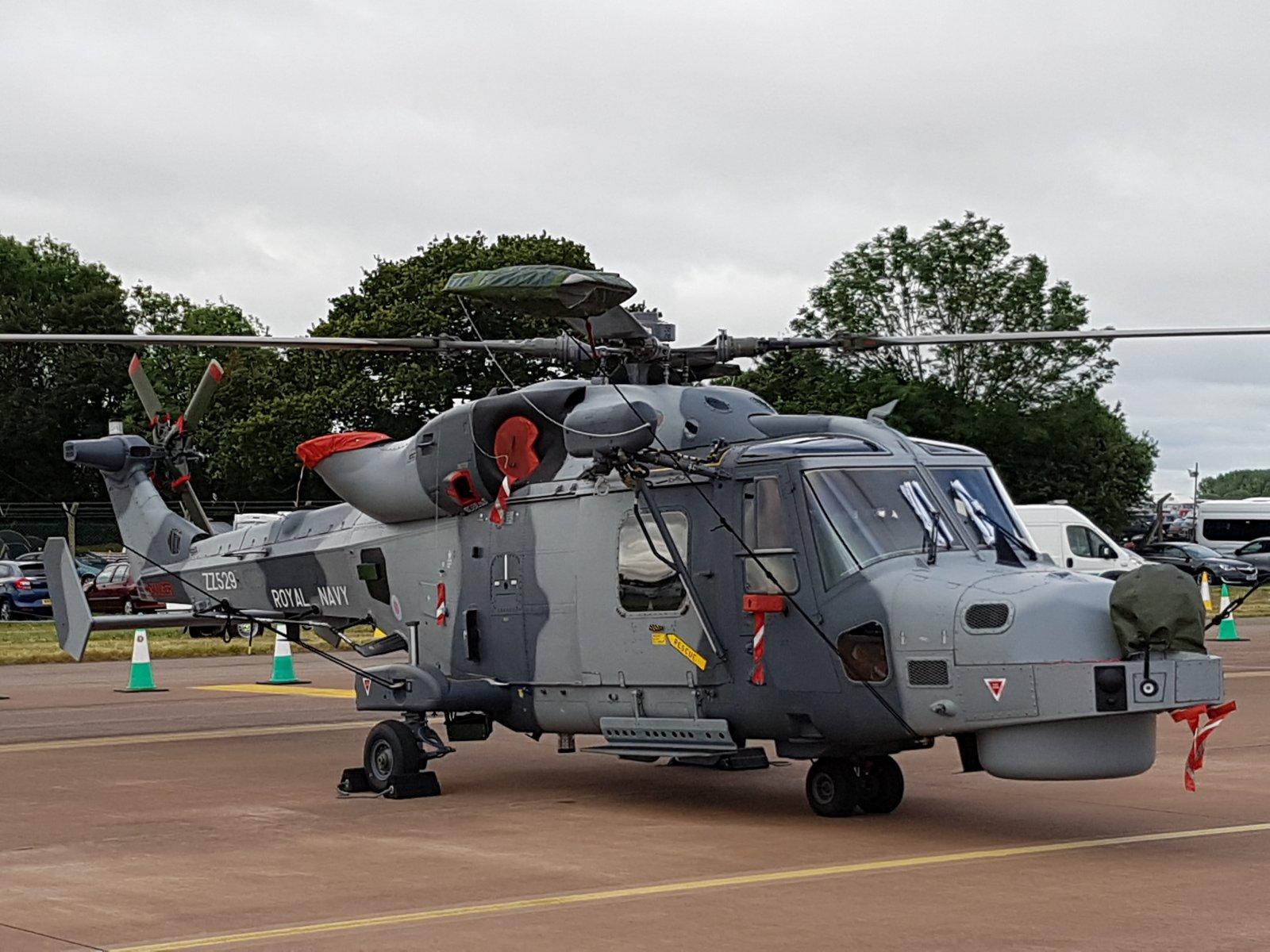 Royal Navyn Agusta Westland Wildcat HMA2, ZZ529