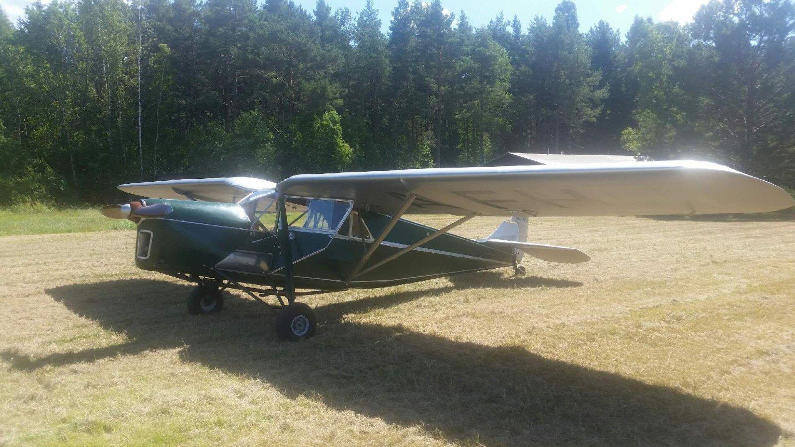 De Havilland DH80A Puss Moth SE-AFH EFHN 2017-07-24