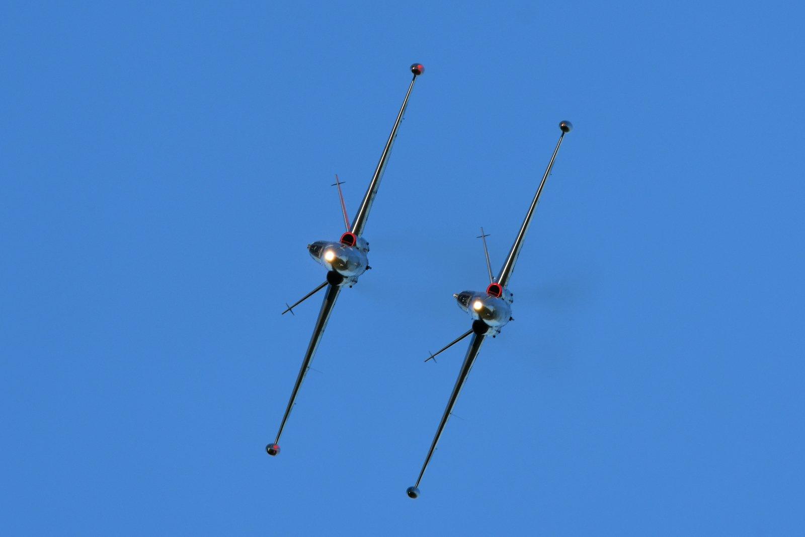 Silver Jets eli Fouga-pari