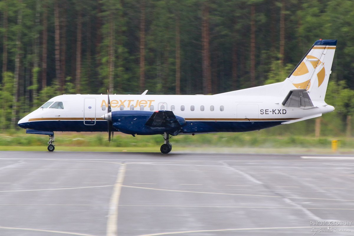 SE-KXD Nextjet Saab 340B, 4.7.2017
