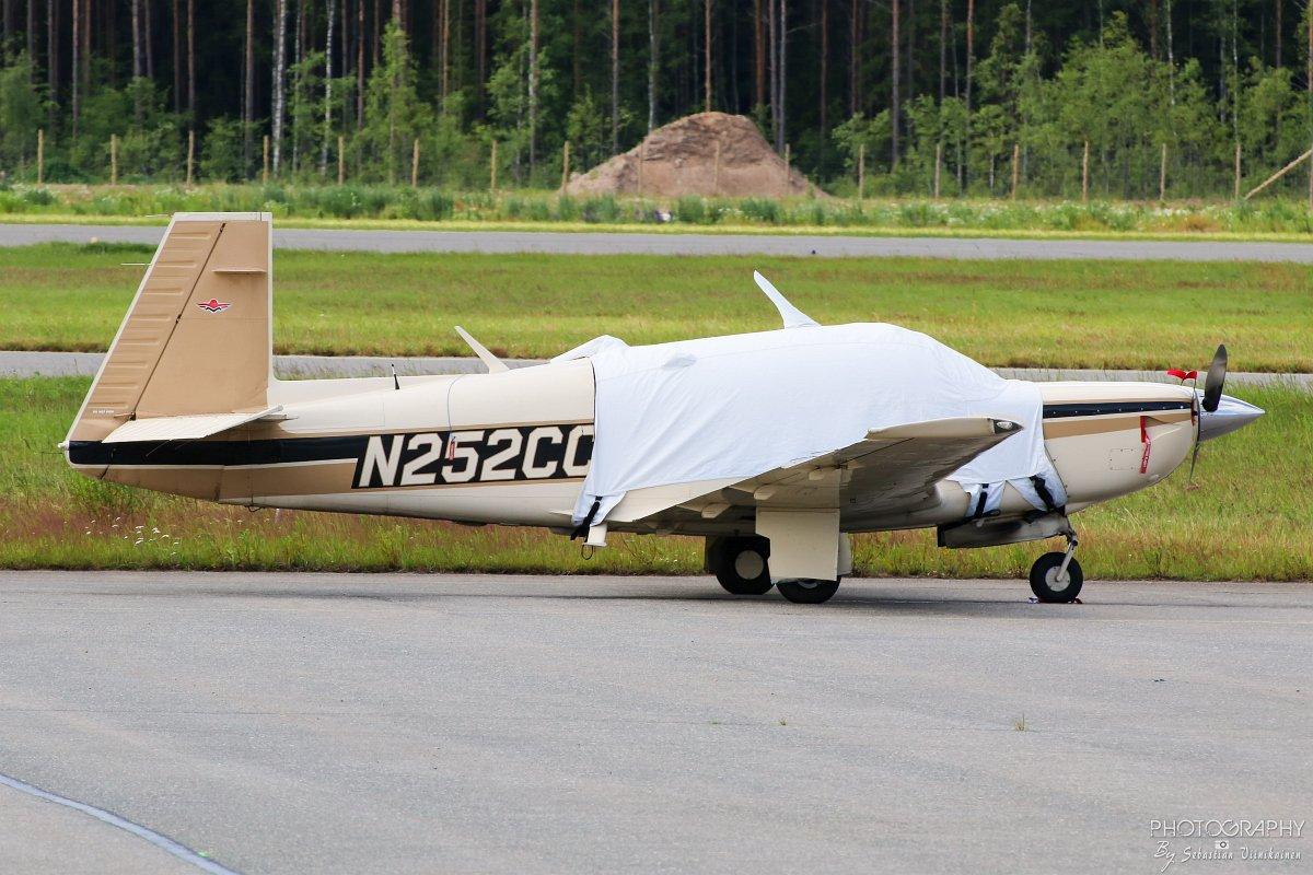 N252CC Mooney M20K-231, 5.7.2017