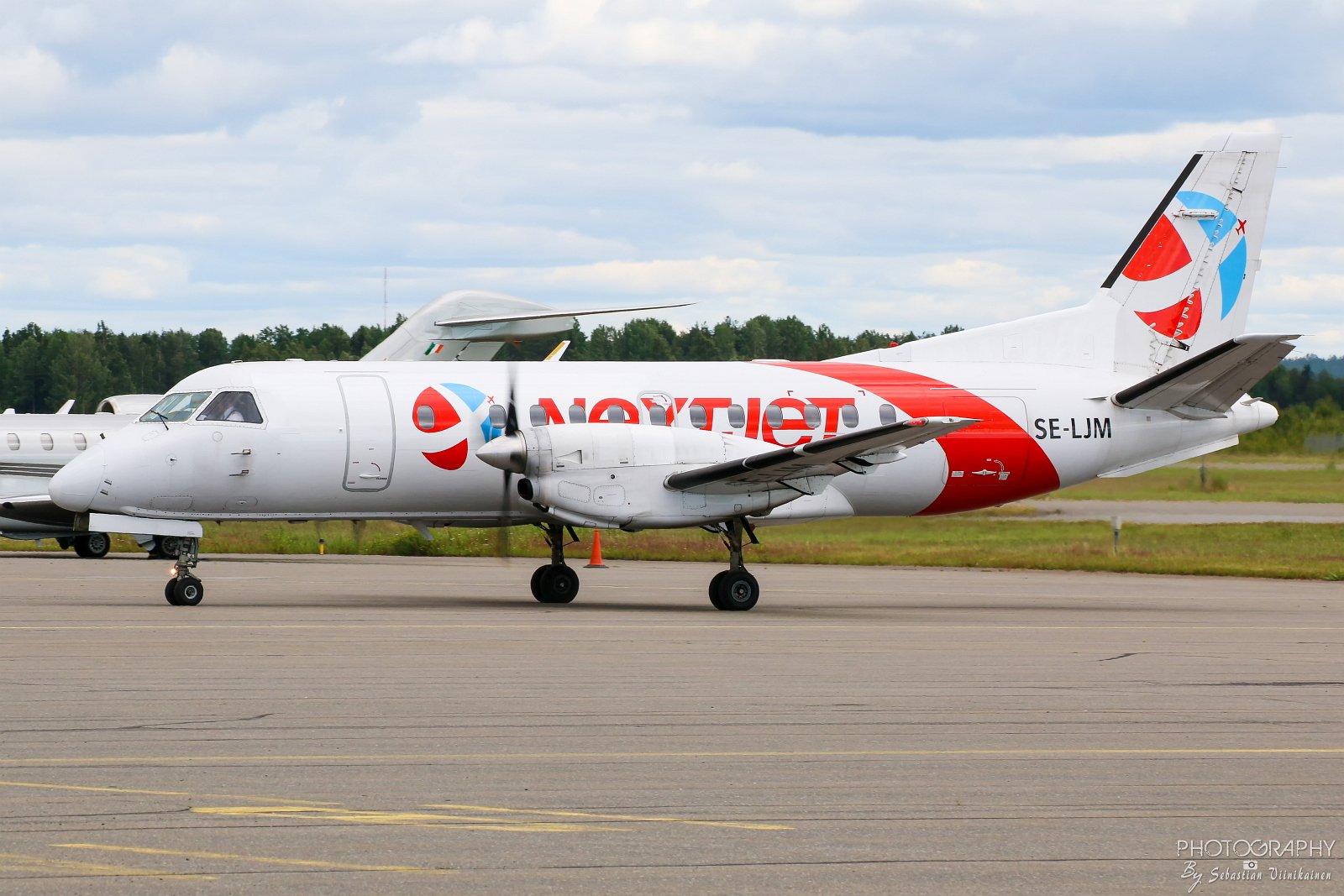 SE-LJM Nextjet Saab 340A, 06.07.2017