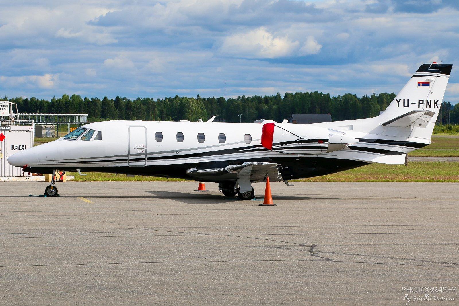 YU-PNK Cessna 560XL Citation XLS+, EFPO, 06.07.2017