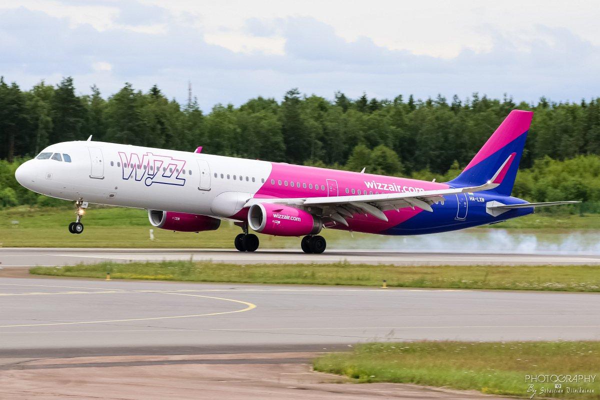 HA-LXN Wizzair A321-200, 13.07.2017