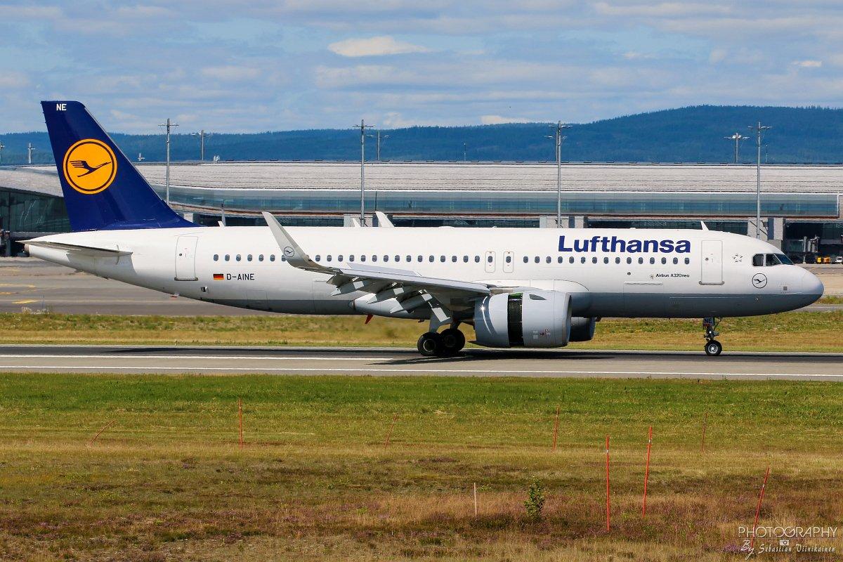 D-AINE Lufthansa A320-200neo