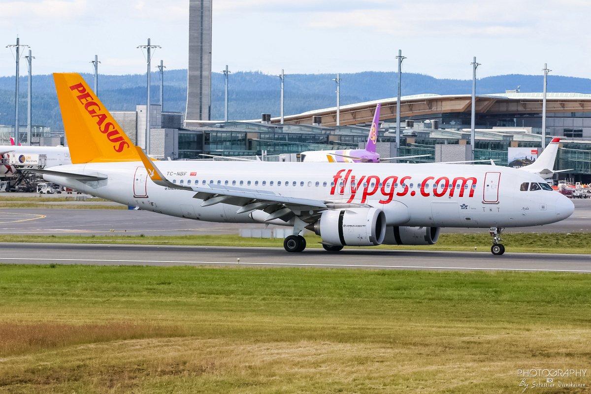 TC-NBF Pegasus Airlines A320-200neo