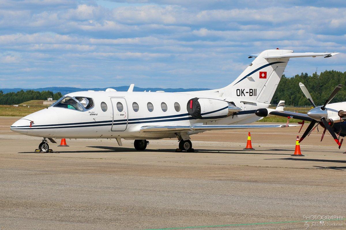 OK-BII Beechcraft 400A Beechjet
