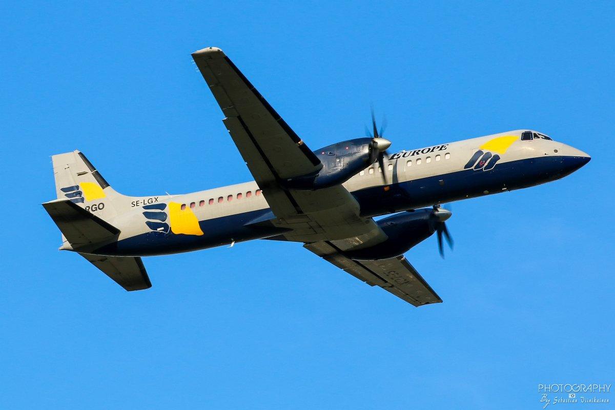SE-LGX West Air Sweden British Aerospace BAe ATP-F