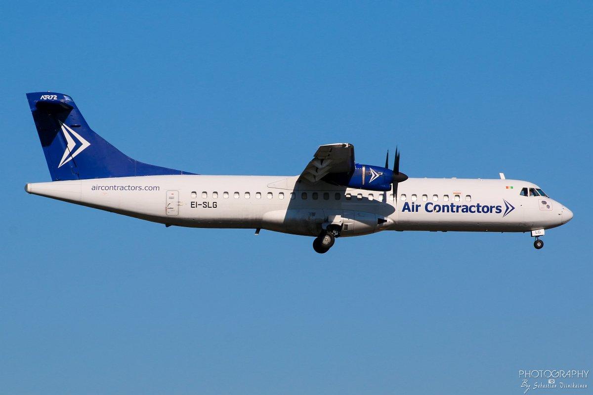 EI-SLG Air Contractors ATR 72-200F