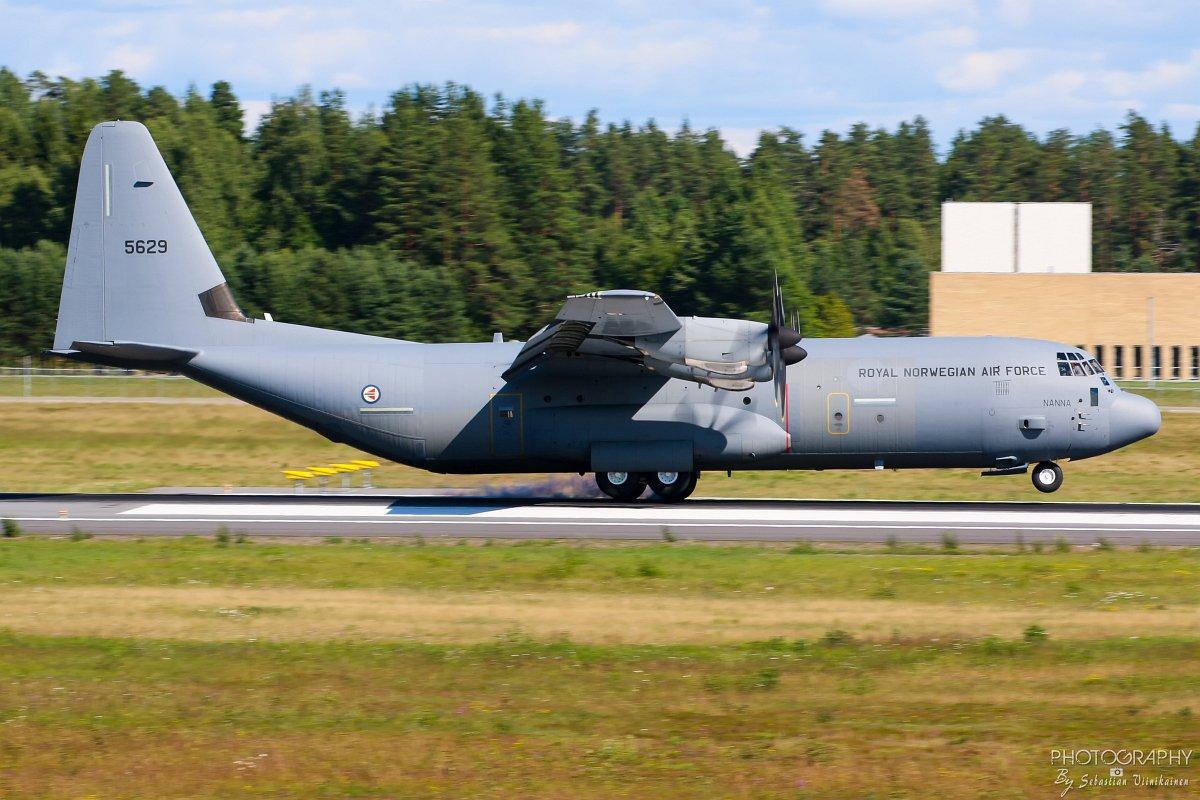 5629 Royal Norwegian Air Force Lockheed C-130 Hercules