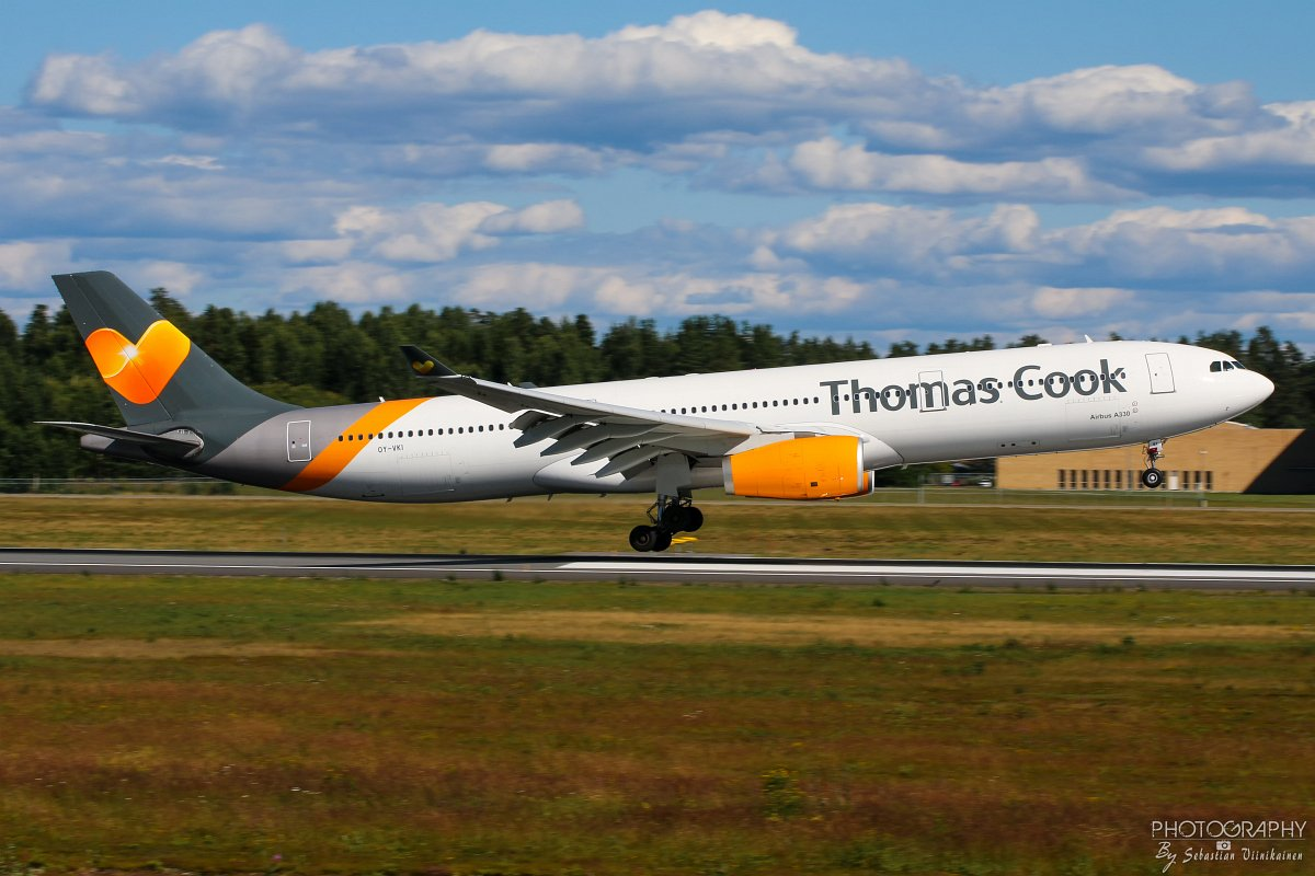 OY-VKI Thomas Cook A330-300