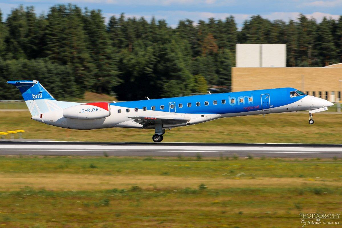 G-RJXR bmi Regional Embraer ERJ-145