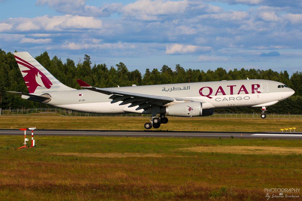 A7-AFI Qatar Airways Cargo A330-200F