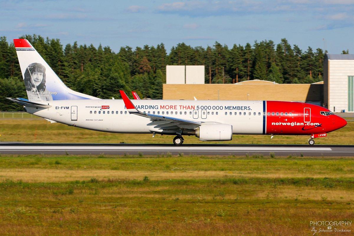 EI-FVM Norwegian B737-800