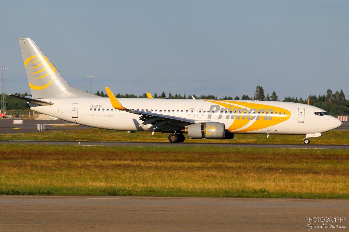 YL-PSC Primera Air Nordic B737-800