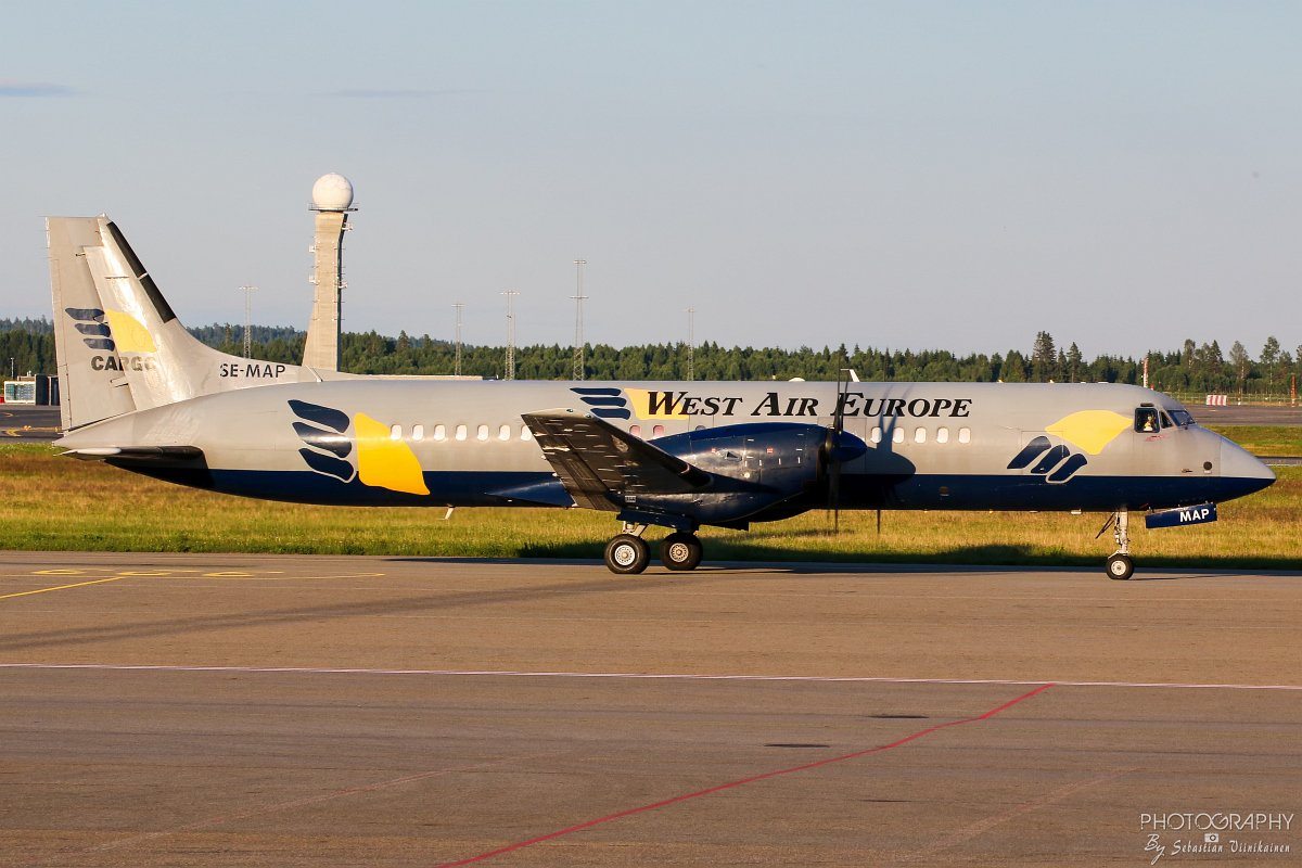 SE-MAP West Air Sweden BAe ATP-F
