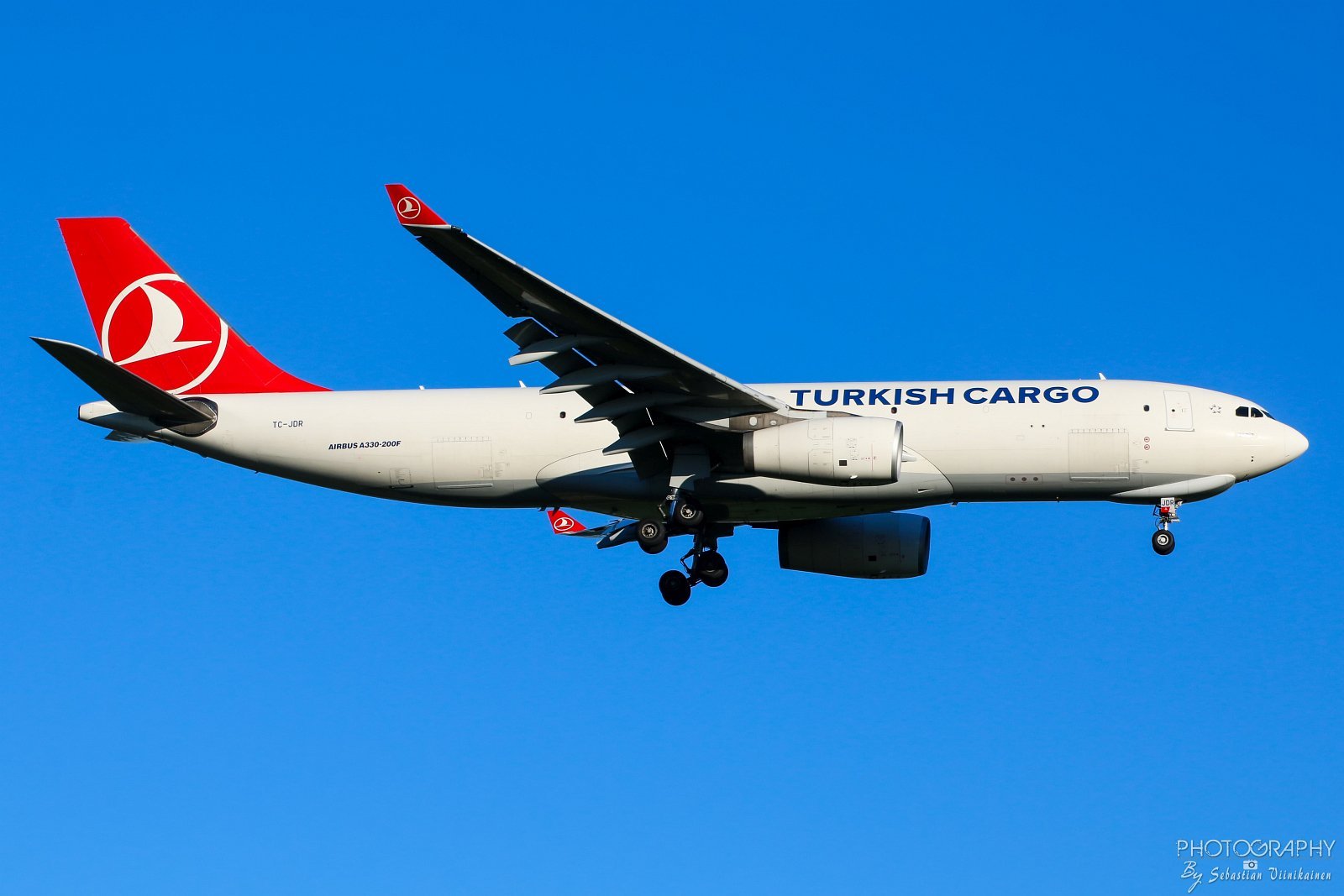 TC-JDR Turkish Airlines Cargo A330-200F, 21.07.2017