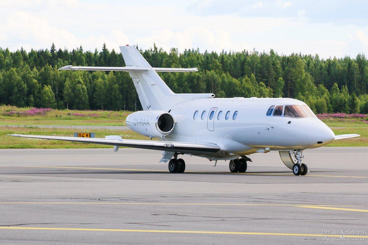 OY-RAA Air Alsie BAe 125-800B, 23.07.2017