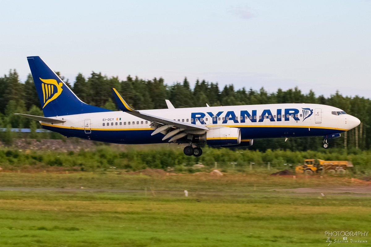 Ei-DCY Ryanair B737-800, 23.07.2017
