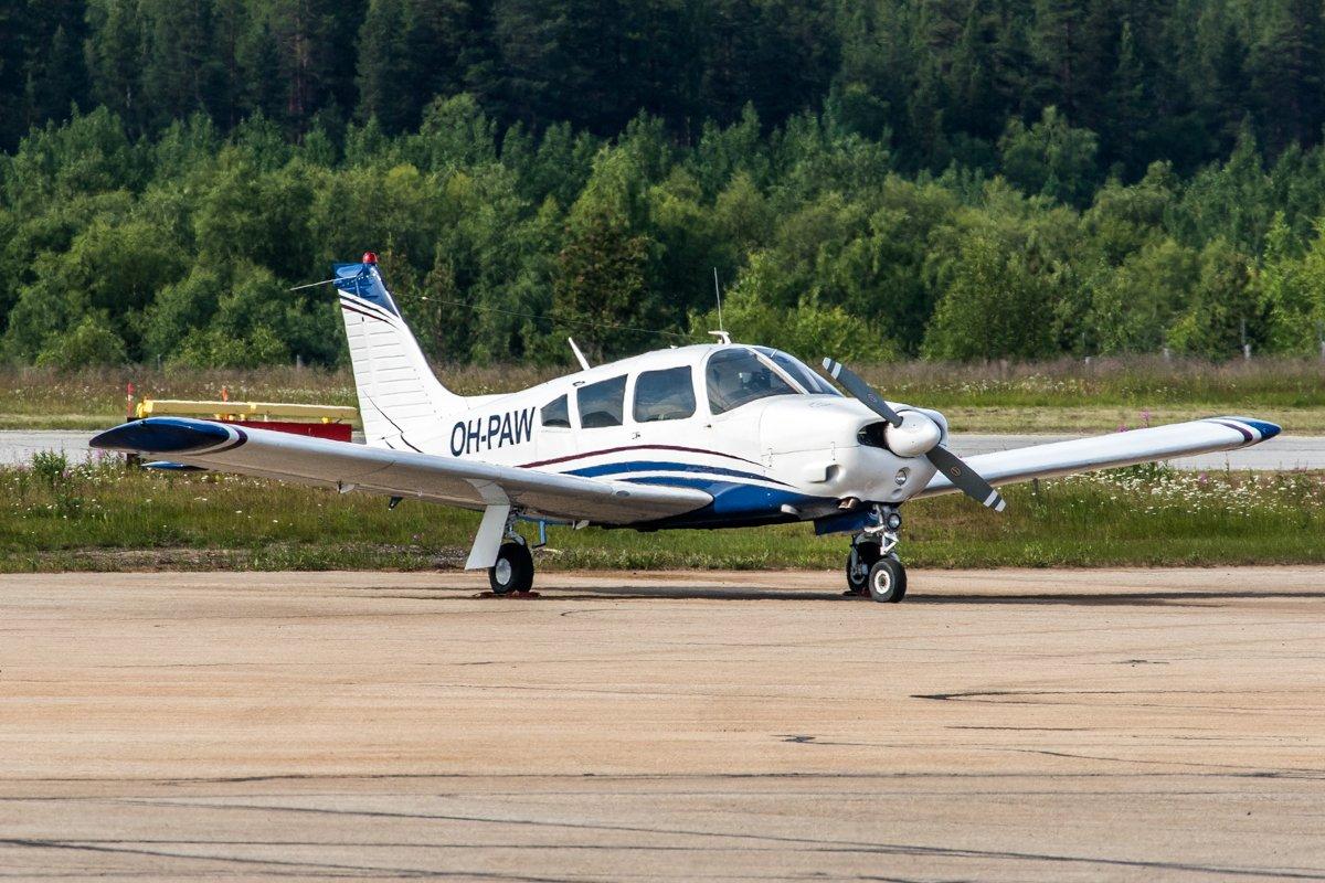 OH-PAW, Piper PA-28R-200 Arrow II. 26.7