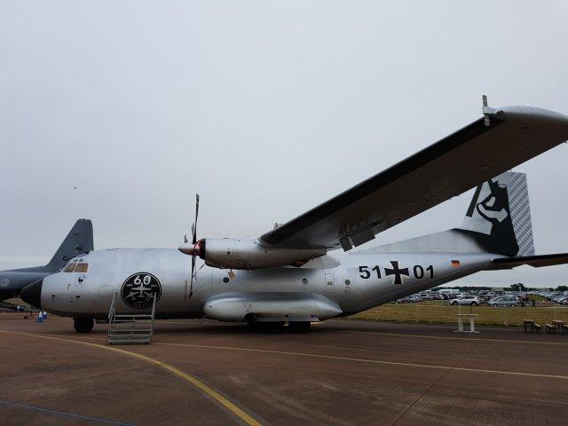 Saksan ilmavoimien Transall C-160D