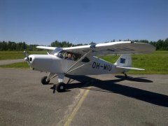 Piper PA-16 Clipper OH-MIU EFHN 2017-07-16