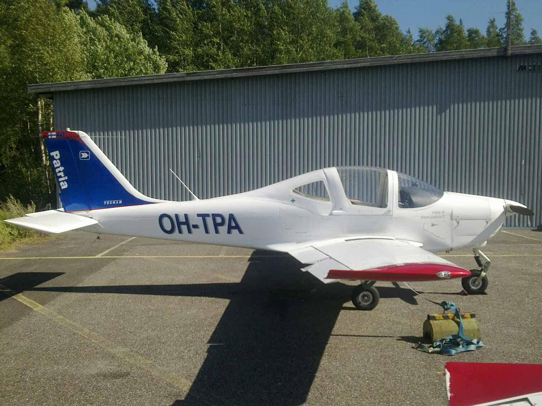 Tecnam P2002JF OH-TPA EFHN 2017-08-04
