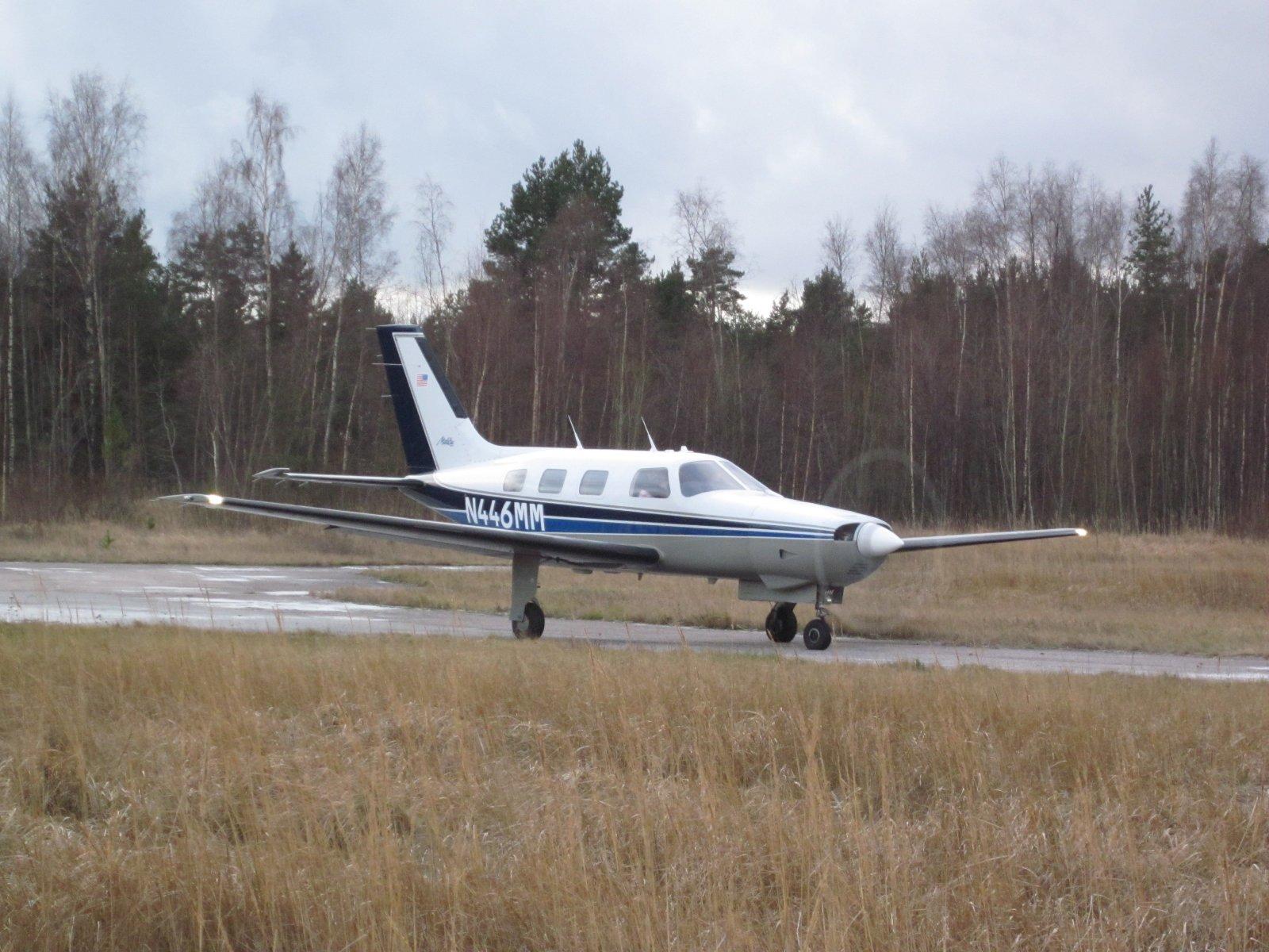 Piper PA-46-310P Malibu N446MM EFHN 2011-12-31
