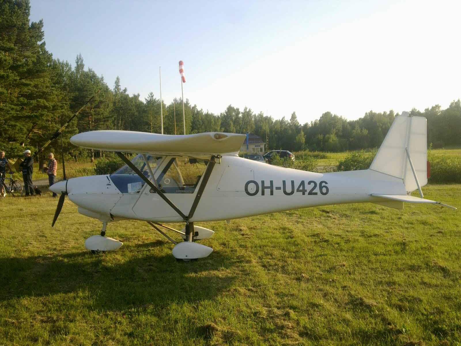 Ikarus C-42 OH-U426 EFHN 2017-08-08