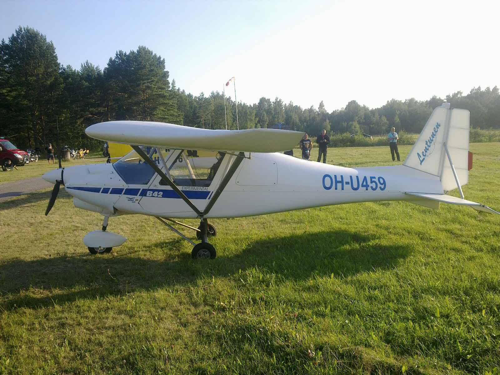Ikarus C-42 OH-U459 EFHN 2017-08-08