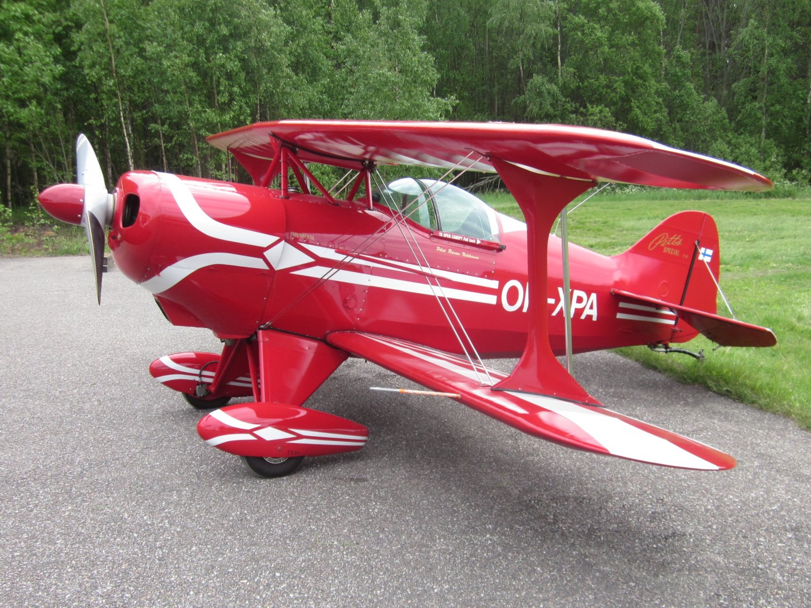 Pitts Special S-1S OH-XPA EFHN 2014-06-07