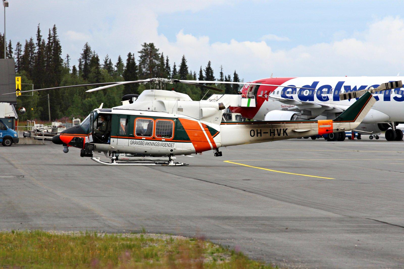 OH-HVK Agusta Bell 412
