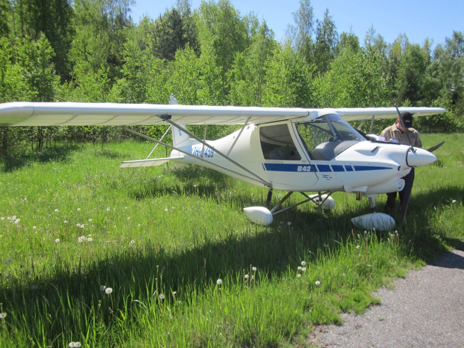Ikarus C-42 OH-U459 EFHN 2014-06-01