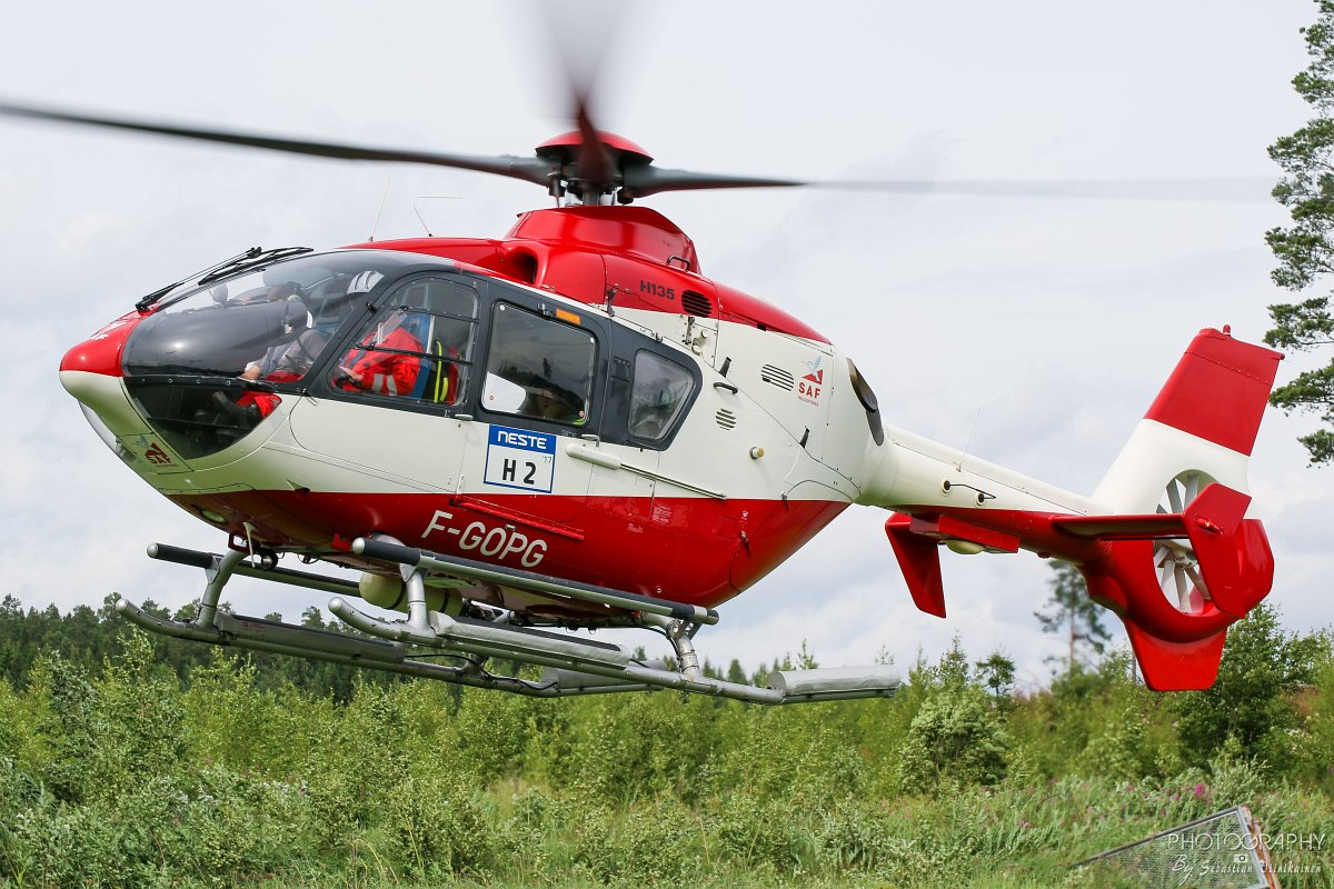 F-GOPG SAF Hélicoptères - Service Aérien Français Eurocopter EC 135T1