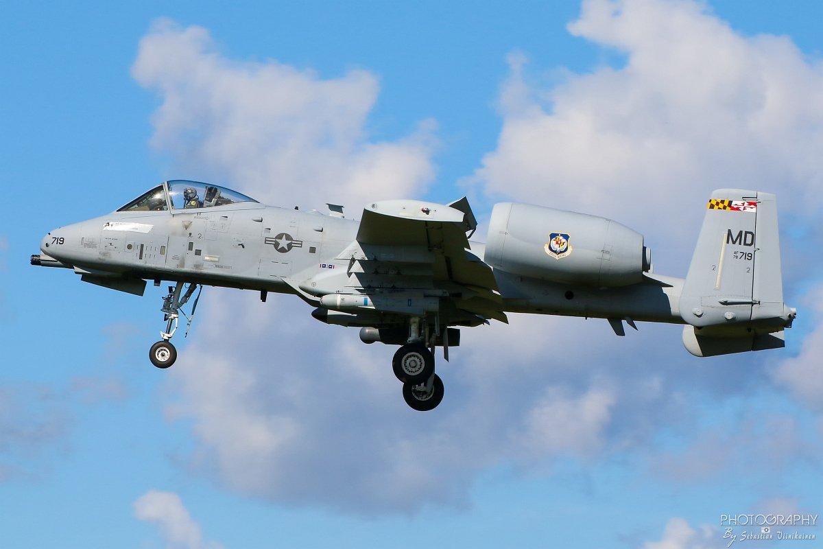 78-0719 United States Air Force Fairchild A-10C Thunderbolt II, 15.08.2017