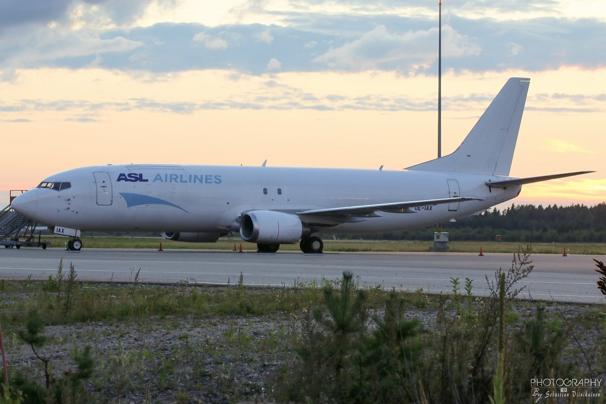 OE-IAX ASL Airlines Belgium B737-400F, 21.08.2017