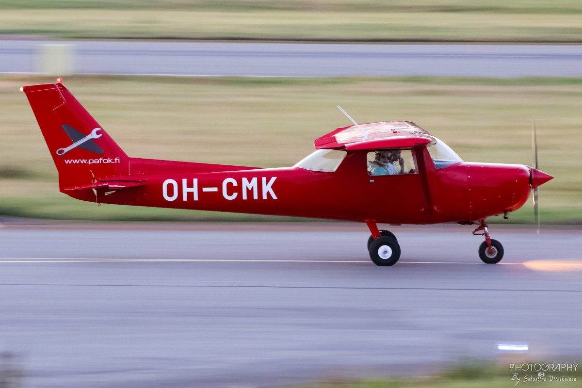 OH-CMK Cessna 152 II, 21.08.2017