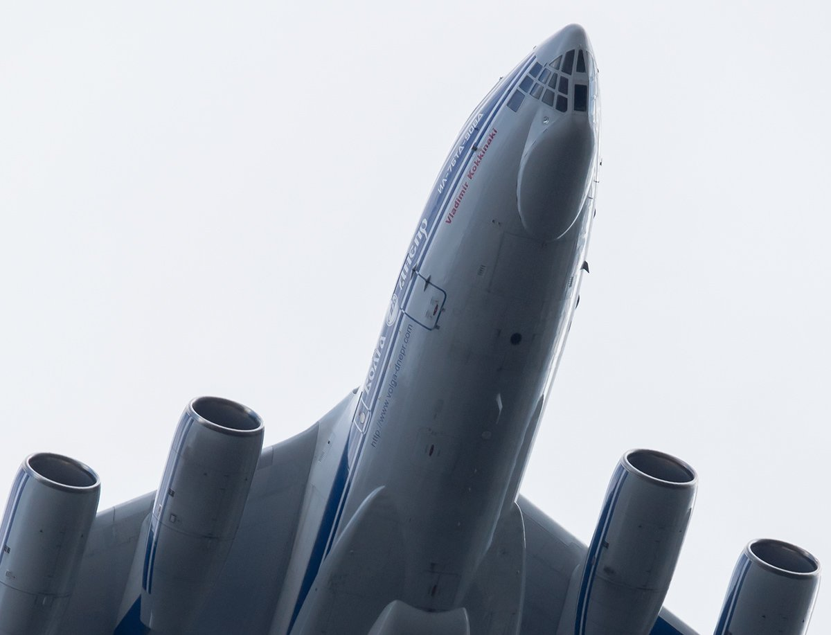 Vladimir Kokkinaki Il-76TD-90VD RA-76950