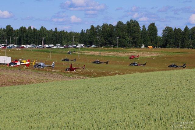 Koptereita riitti vielä Oittila EK25 pätkällä.