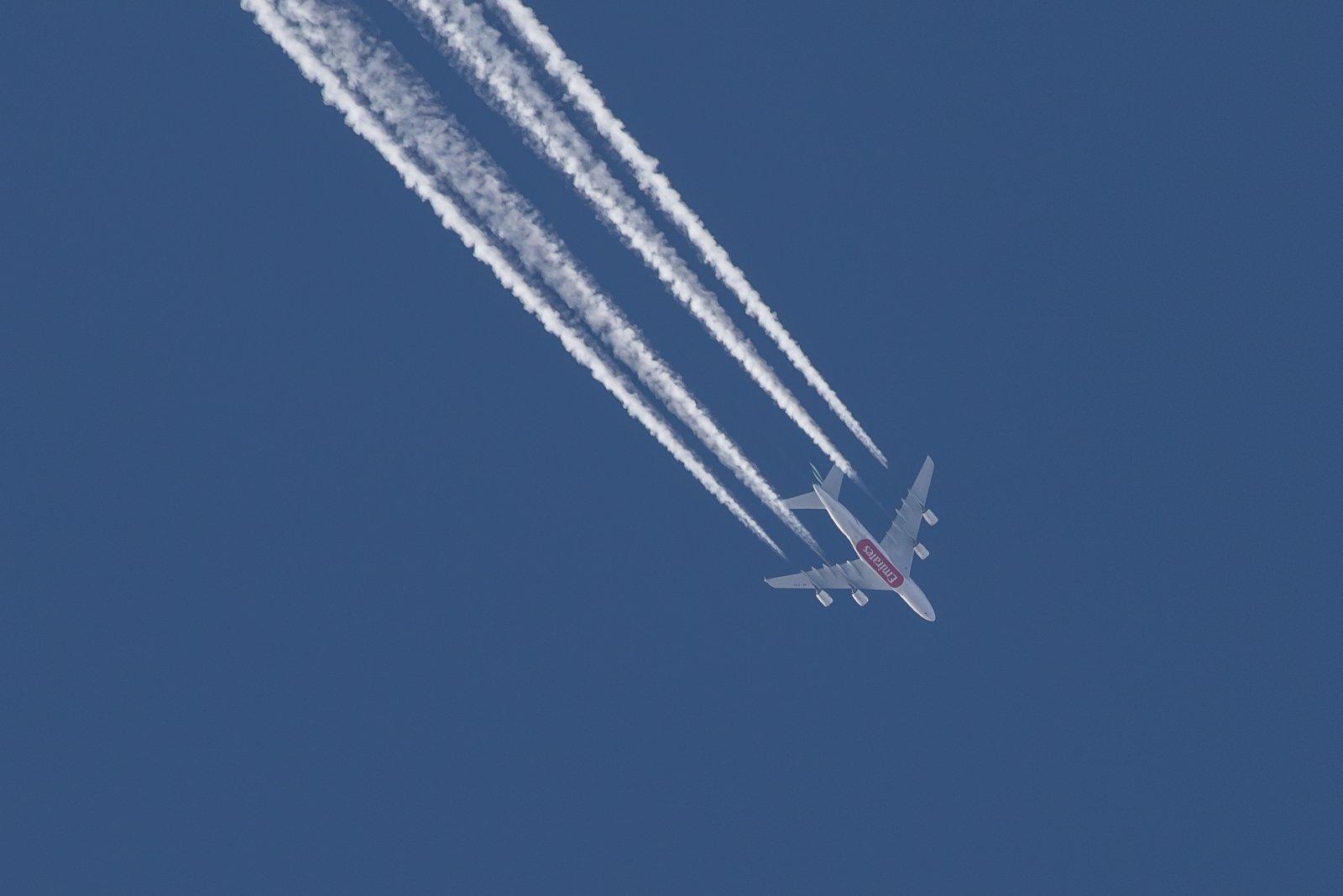 A6-EOC. Emirates Airbus A380-861. Dubai-San Francisco