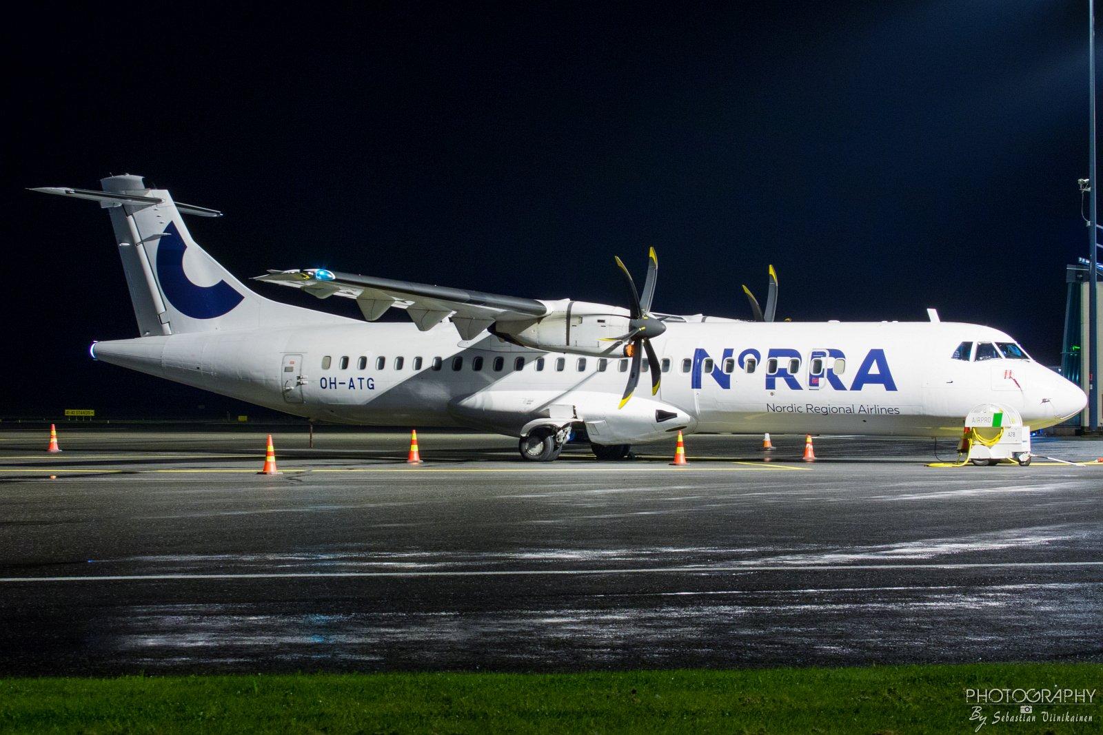 OH-ATG Norra ATR 72-500, 09.09.2017
