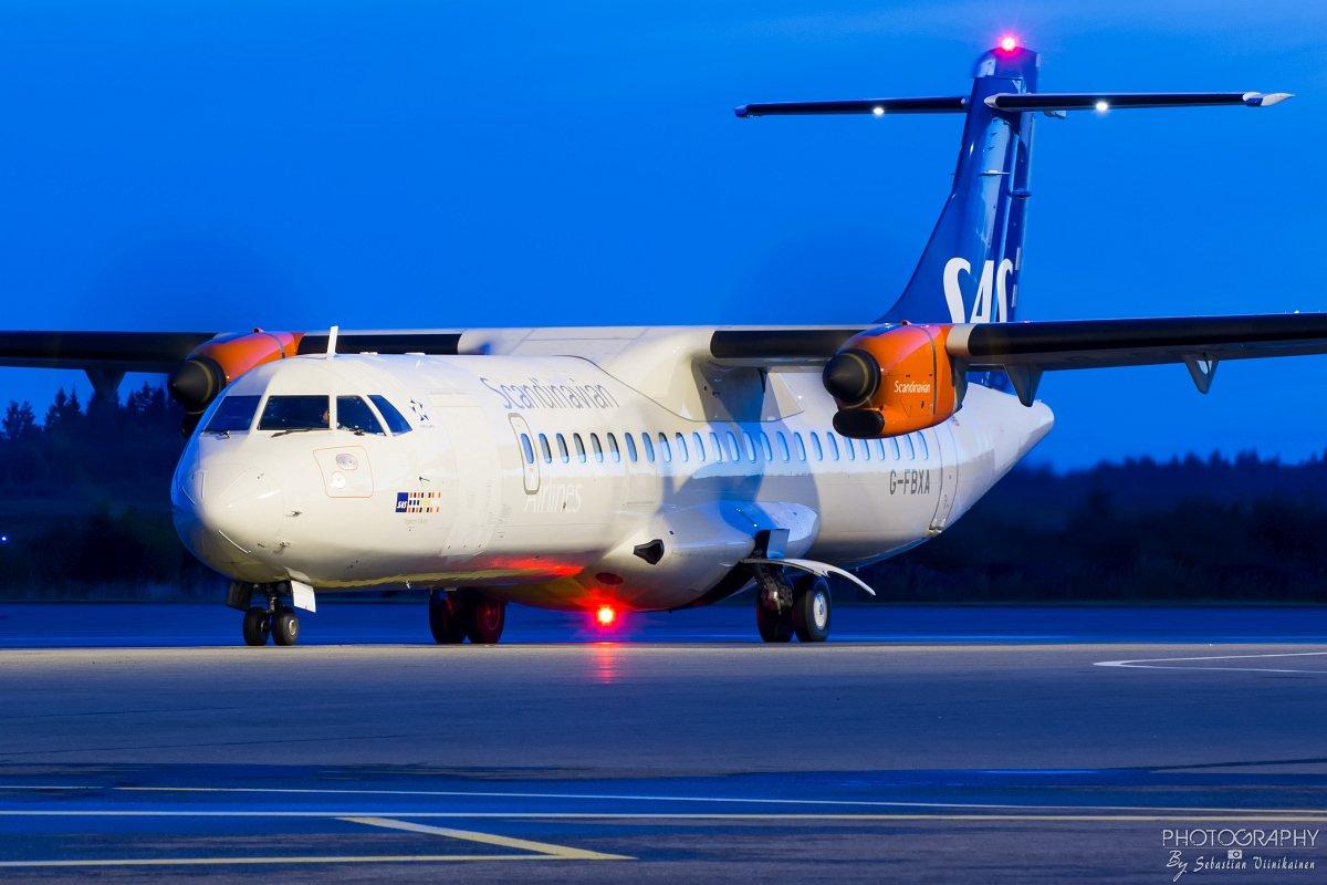 G-FBXA SAS ATR 72-600, 12.09.2017